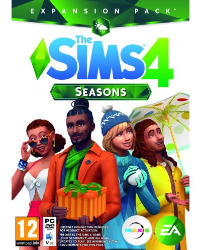 The Sims 4 Seasons Expansion Pack (PC) - 1