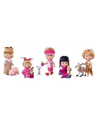 Кукла Маша и Мечока Simba Toys - Маша с домашен любимец – асортимент - 1