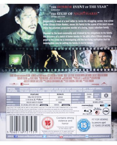 Sinister (Blu-Ray) - 2