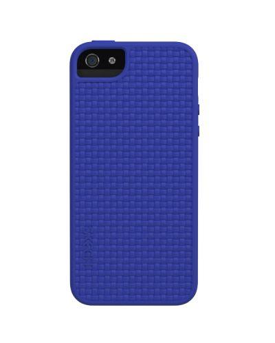 Skech Grip Shock Snap On Case за iPhone 5 -  син - 1