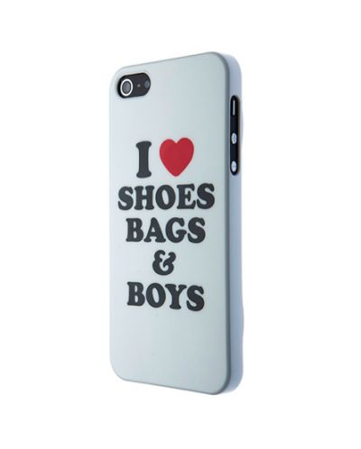 SKILLFWD I love shoes, bags & boys за iPhone 5 - 1