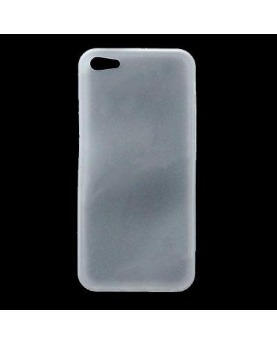 Skinny TPU Case за iPhone 5 -  прозрачен-мат - 1