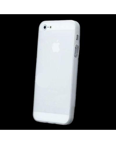 Skinny TPU Case за iPhone 5 -  прозрачен-мат - 5