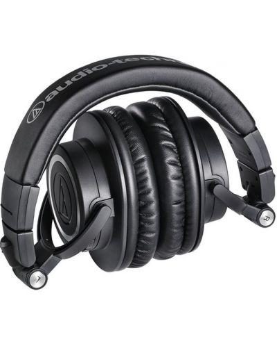 Слушалки с микрофон Audio-Technica ATH-M50xBT - черни - 4