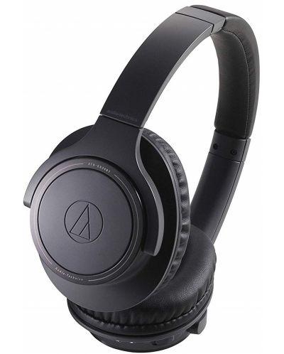 Слушалки с микрофон Audio-Technica - ATH-SR30BTBK, charcoal gray - 1