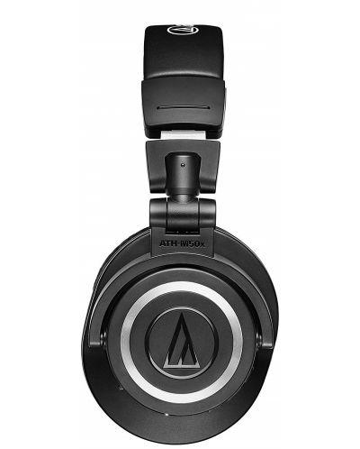 Слушалки с микрофон Audio-Technica ATH-M50xBT - черни - 2
