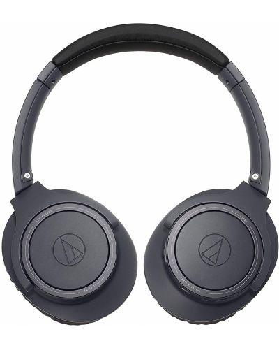 Слушалки с микрофон Audio-Technica - ATH-SR30BTBK, charcoal gray - 2