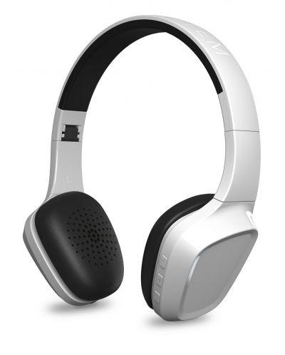 Слушалки с микрофон Energy Sistem - Headphones 1 BT, бели - 3