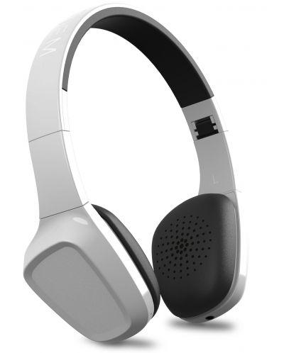 Слушалки с микрофон Energy Sistem - Headphones 1 BT, бели - 1