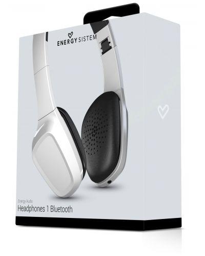 Слушалки с микрофон Energy Sistem - Headphones 1 BT, бели - 5