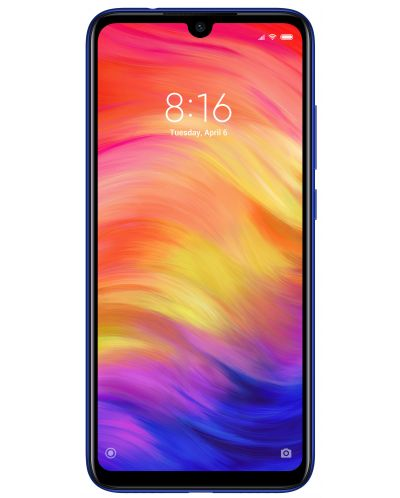 "Смартфон Xiaomi Redmi Note 7 - 6.3"", 32GB, син - 1"
