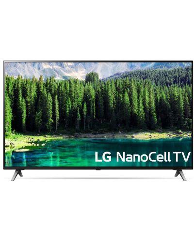"""Смарт Телевизор LG 55SM8500 - 55"""", 4K, Nano Cell, Edge LED, черен - 1"""