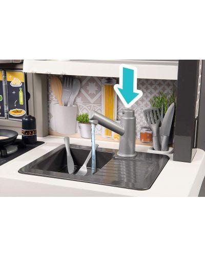 Интерактивна детска кухня Smoby Tefal Evolution - С аксесоари, ефект на кипене и звуци - 3