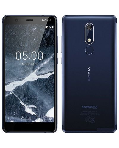"Смартфон Nokia 5.1 DS - 5.5"", 16GB, син - 1"