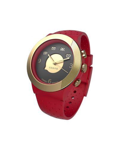Смарт часовник Cogito Fit - червен/златист - 1