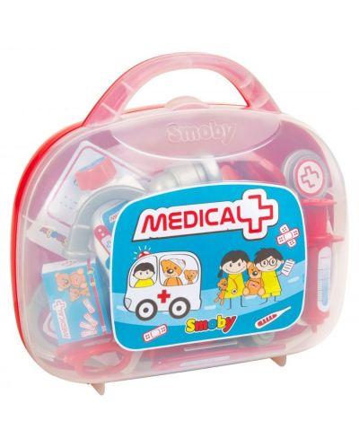 Детски лекарски комплект Smoby - В куфарче - 2