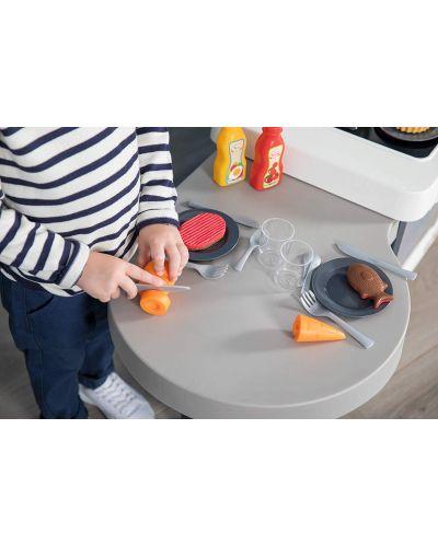 Интерактивна детска кухня Smoby Tefal Evolution - С аксесоари, ефект на кипене и звуци - 7