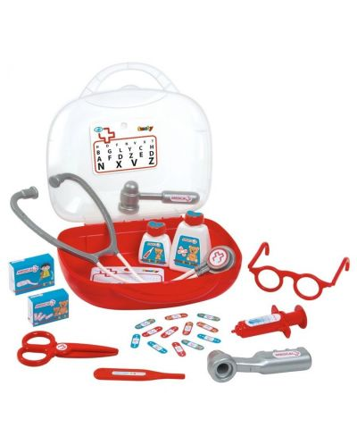 Детски лекарски комплект Smoby - В куфарче - 1