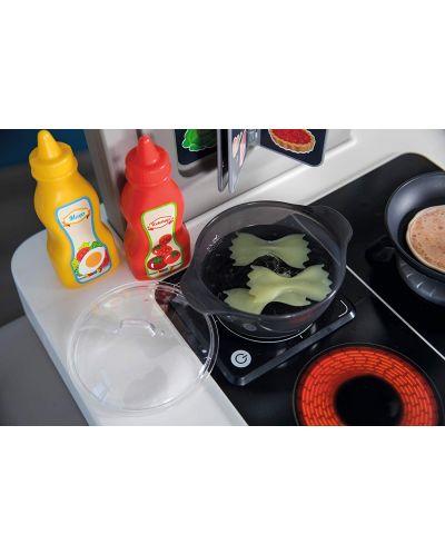 Интерактивна детска кухня Smoby Tefal Evolution - С аксесоари, ефект на кипене и звуци - 4