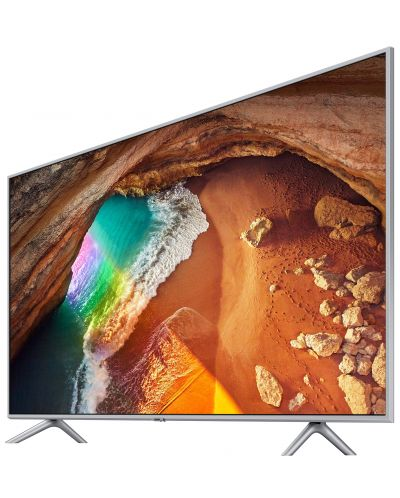 """Смарт телевизор Samsung  43Q60 - 43"""",QLED, QHDR, черен - 2"""