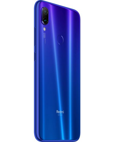 "Смартфон Xiaomi Redmi Note 7 - 6.3"", 32GB, син - 2"
