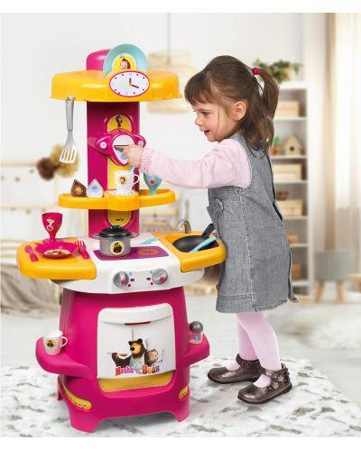 Детска кухня Smoby - Маша и Мечока - 3