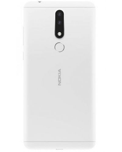 "Смартфон Nokia 3.1 Plus DS - 6"", 16GB, бял - 2"