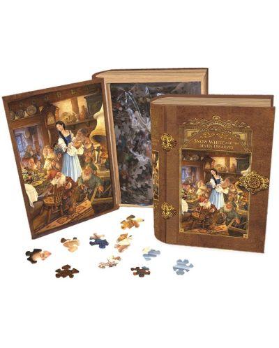 Пъзел в кутия-книга Master Pieces от 1000 части - Снежанка - 2
