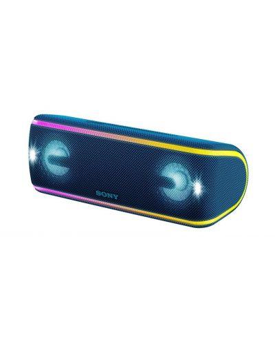 Мини колонка Sony SRS-XB41 - синя - 1