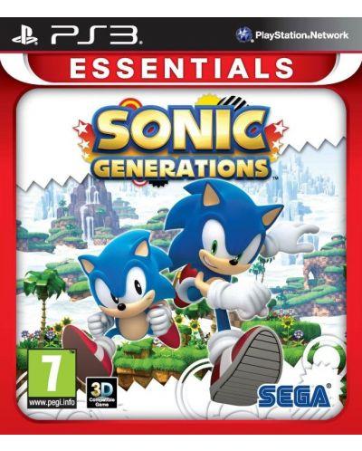 Sonic Generations - Essentials (PS3) - 1