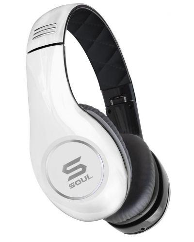 Слушалки Soul SL150 - бели/черни - 1