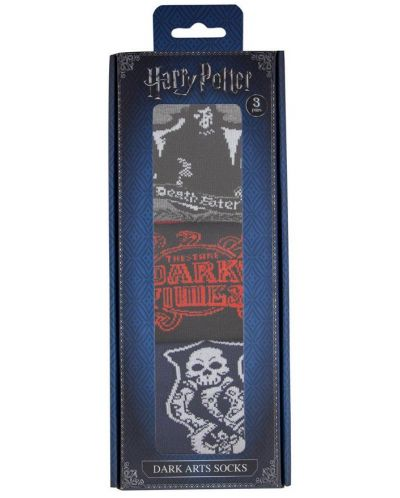 Чорапи Harry Potter - Pack Dark Arts, 3 чифта - 2
