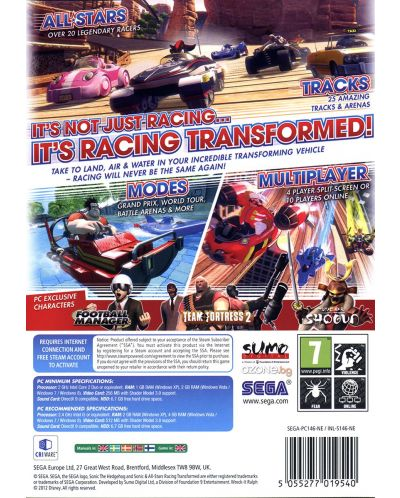 Sonic All-Stars Racing Transformed (PC) - 3
