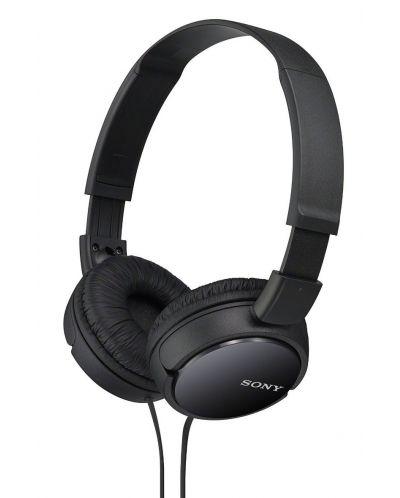 Слушалки Sony MDR-ZX110 - черни - 1