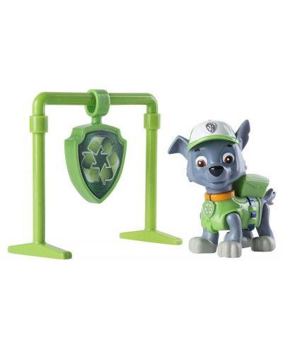 Детска играчка Spin Master Paw Patrol - Pull Back Pup, Роки - 1