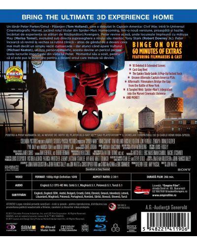 Спайдър-мен: Завръщане у дома 3D+2D (Blu-Ray) - 2