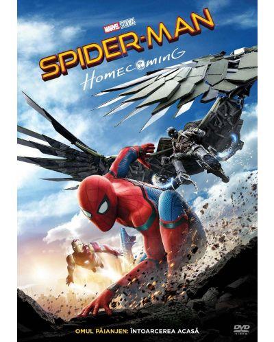 Спайдър-мен: Завръщане у дома (DVD) - 1