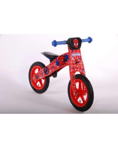 Дървено колело за баланс E&L Cycles - Спайдърмен, 12 инча - 2