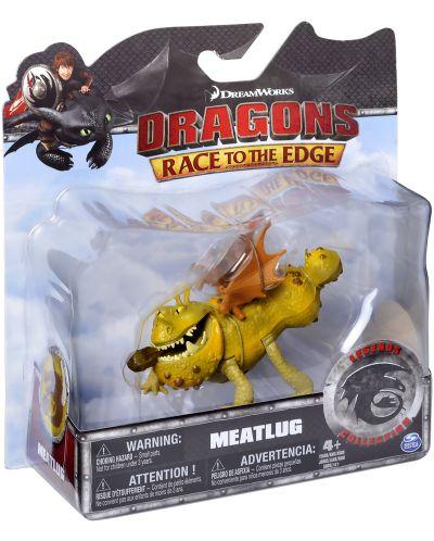 Екшън фигурка Spin Master Dragons Legends Collection - Meatlug - 2