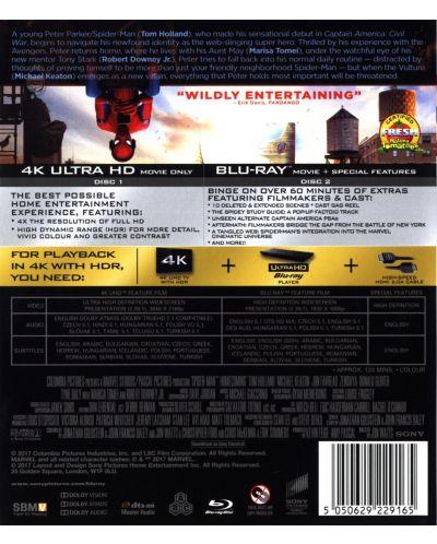 Спайдър-мен: Завръщане у дома (4K UHD Blu-Ray) - 2