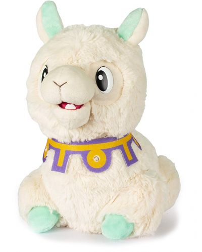Интерактивна плюшена играчка IMC Toys - Плюеща лама Spitzy - 1