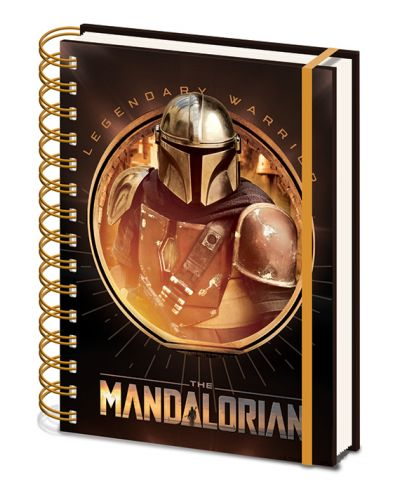 Тефтер Pyramid - Star Wars: The Mandalorian (Bounty Hunter) - 1