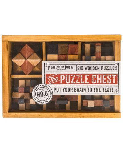Комплект логически пъзели Professor Puzzle – Chest, 6 броя - 1