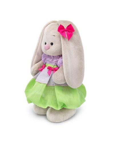 Плюшена играчка Budi Basa - Зайка Ми, с пролетна рокличка, 25 cm - 3