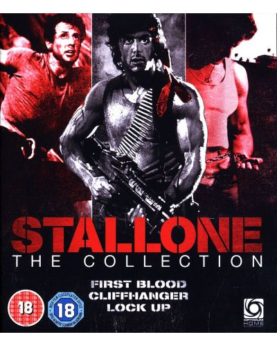 Stallone Collection (First Blood/Cliffhanger/Lock Up) (Blu-ray) - 1