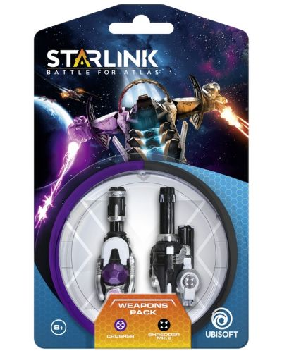 Starlink: Battle for Atlas - Weapon Pack, Crusher & Shredder - 2