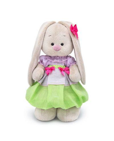 Плюшена играчка Budi Basa - Зайка Ми, с пролетна рокличка, 25 cm - 1