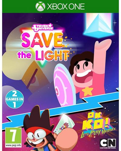 Steven Universe Save The Light And OK K.O.! Lets Play Heroes (Xbox One) - 1