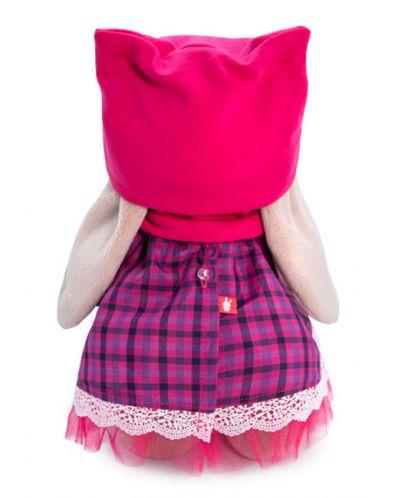 Плюшена играчка Budi Basa - Зайка Ми, с рокличка с яка и шапка, 25 cm - 4