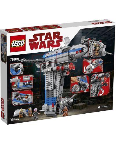 Конструктор Lego, Star Wars - Бомбардировач на Съпротивата (75188) - 10